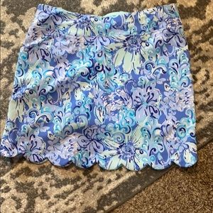 EUC Lilly Pulitzer Monica skort wore once